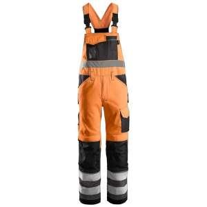 Oransje snekkerbukse - Snickers Workwear 0113