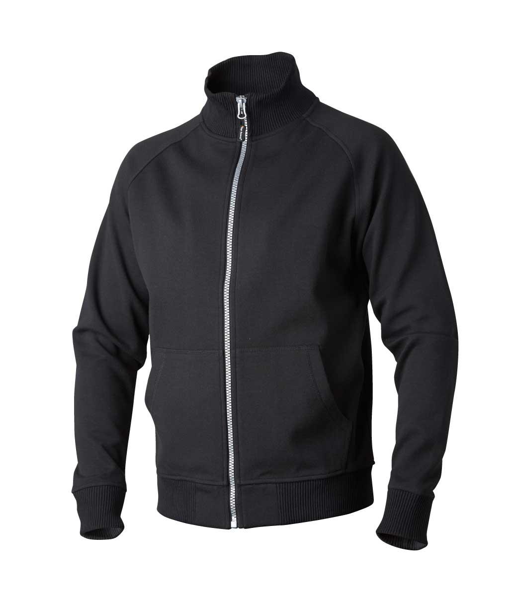 7e9095fd Svart jakke i 80% bomull ~ Ezzenza.no Arbeidsklær