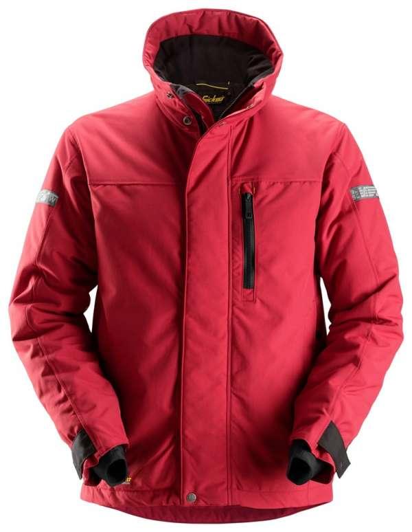 Rød vinterjakke 37.5® - Snickers Workwear 1100