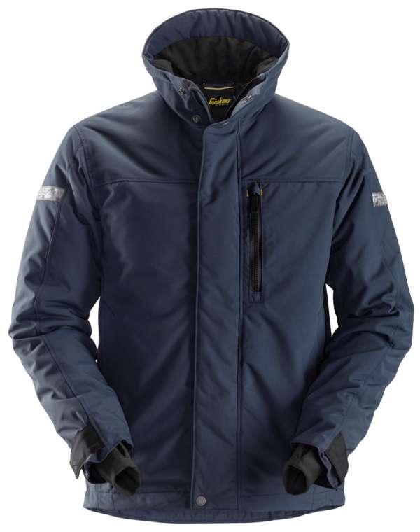 Marineblå vinterjakke 37.5® - Snickers Workwear 1100