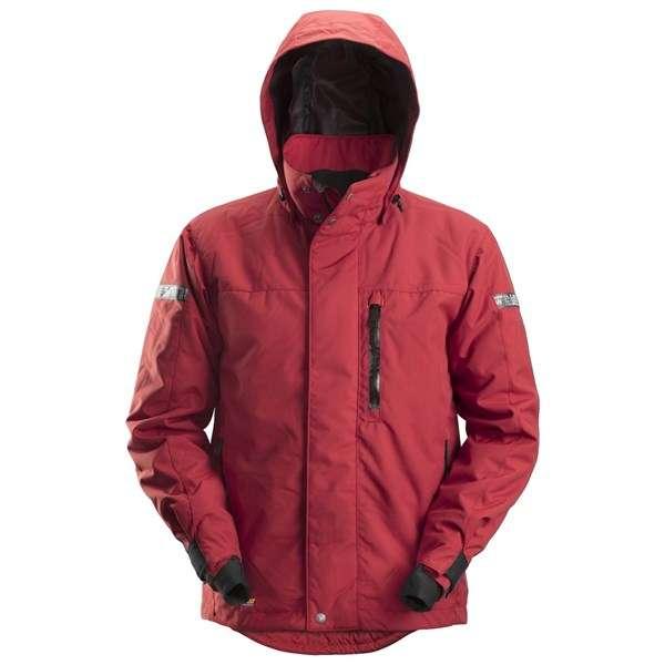 Rød vanntett vinterjakke 37.5® - Snickers Workwear 1102