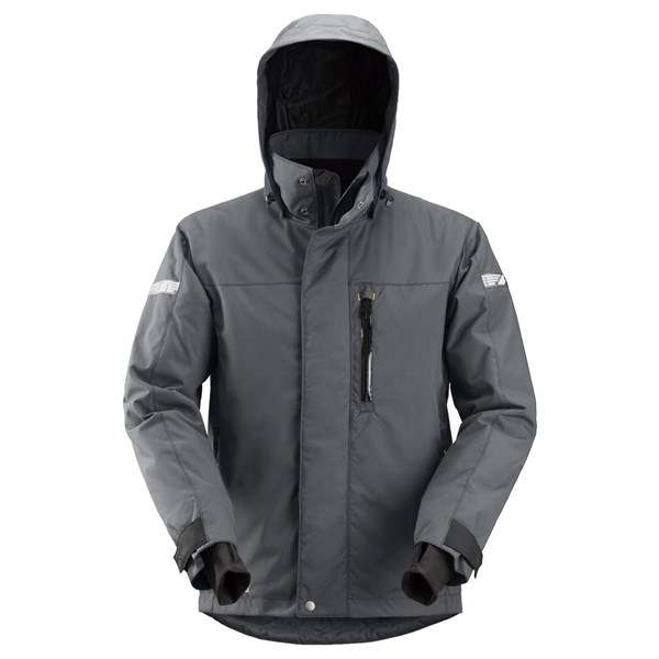 Stålgrå vanntett vinterjakke 37.5® - Snickers Workwear 1102