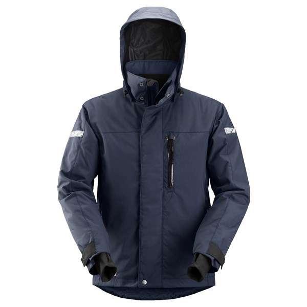 Marineblå vanntett vinterjakke 37.5® - Snickers Workwear 1102