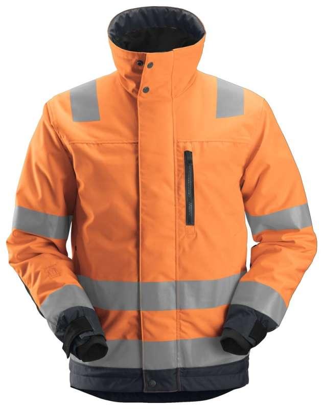 Oransje Vinterjakke herre - Snickers Workwear 1130
