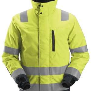 Gul Vinterjakke herre - Snickers Workwear 1130