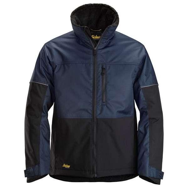 Marineblå vinterjakke herre Snickers Workwear 1148