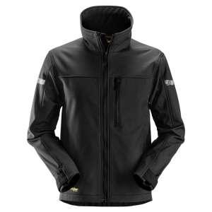 Svart softshell jakke - Snickers Workwear 1200