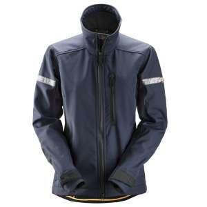 Marineblå Softshell jakke dame 1207 -fra Snickers Workwear
