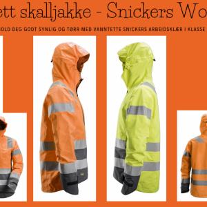 Vanntett skalljakke - Snickers Workwear 1330