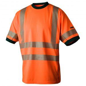 Oransje T-skjorte med Coolplus