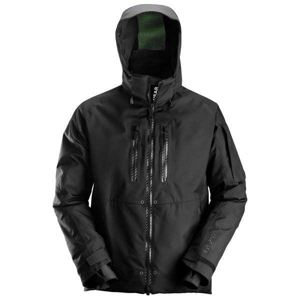 Arbeidsjakke ~ Skall og softshell jakke, hette, Fleece, Regn