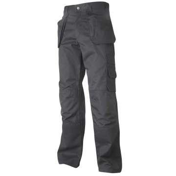 Håndverksbukse med forbøyde ben og knelommer av Cordura®.