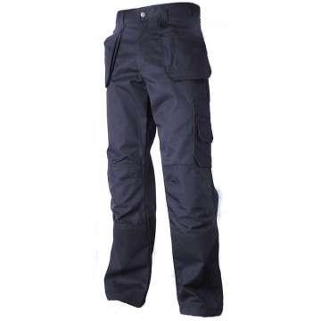 Marineblå håndverksbukse Cordura® forsterket