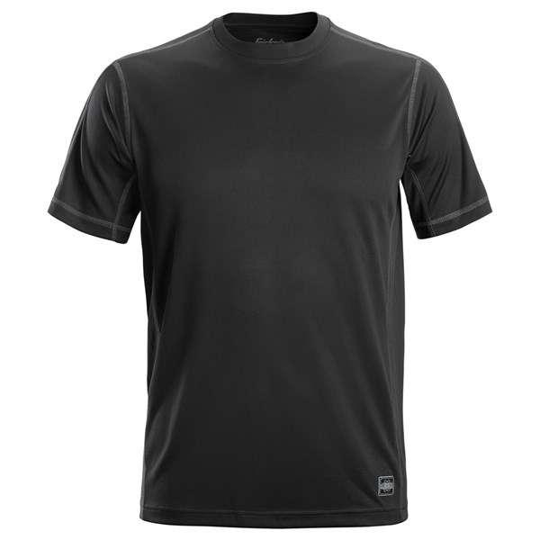 Svart A.V.S. T-skjorte -Snickers Workwear 2508