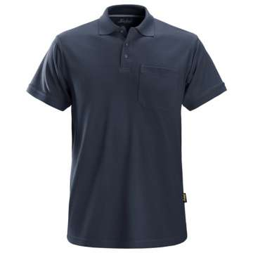 Attraktiv, robust pique skjorte til arbeid. Ideéll for firmaprofilering.