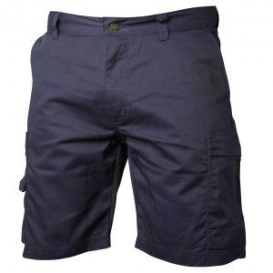 Marineblå shorts for serviceyrker