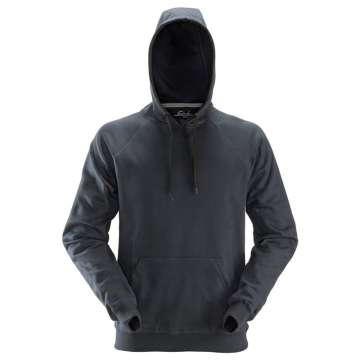 Stålgrå robust hettegenser - Snickers Workwear 2800