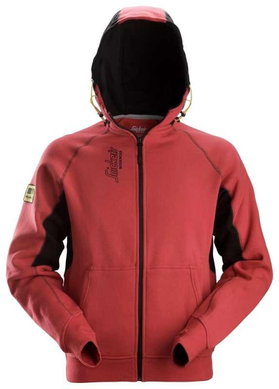 Rød hettejakke 2816 fra Snickers Workwear