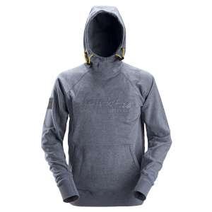 Mørkblå hettegenser logo - Snickers Workwear 2881