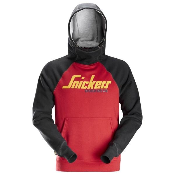 Logo hettegenser herre - Snickers Workwear 2889
