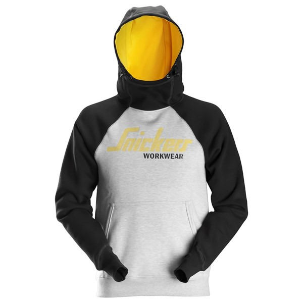 Logo hettegenser herre – Snickers Workwear 2889