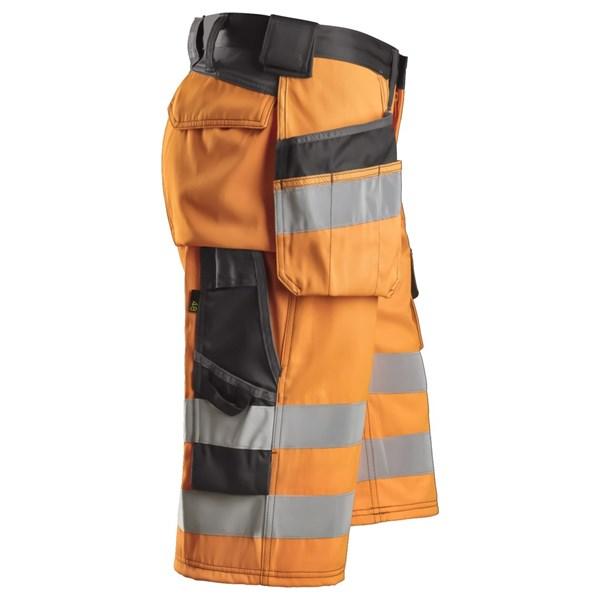 Gjør deg godt synlig med High-Vis shorts fra Snickers.