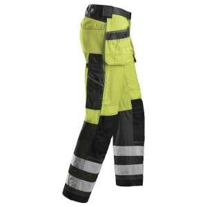 Gul varselbukse - Snickers Workwear 3233