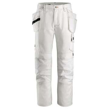 Hvit malerbukse - Snickers Workwear 3275