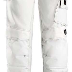 Hvit Arbeidsbukse dame - Snickers Workwear 3775