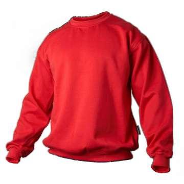 Rød college genser
