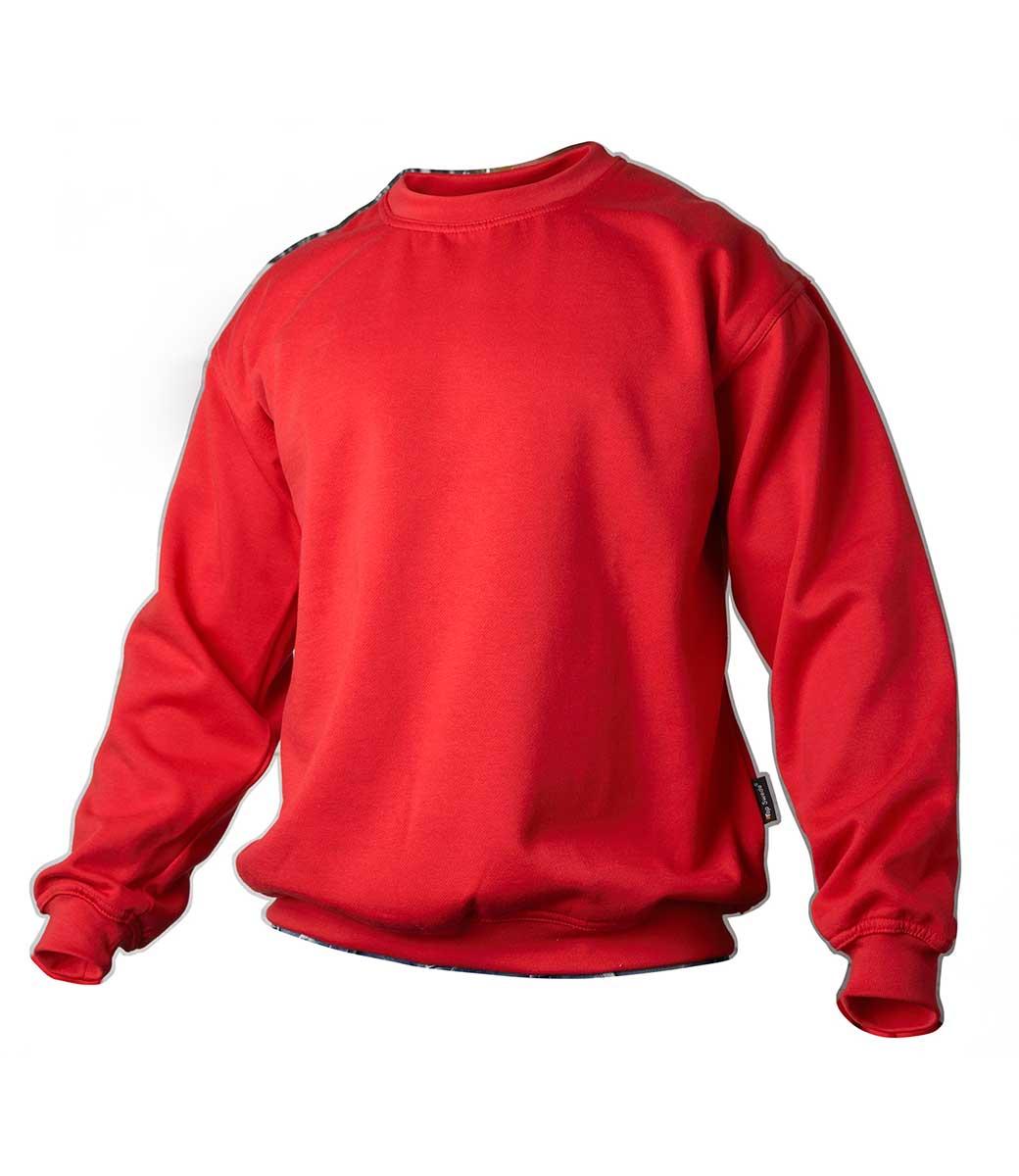 Marineblå college genser ~ OEKO TEX ®. 65% Bomull og 35