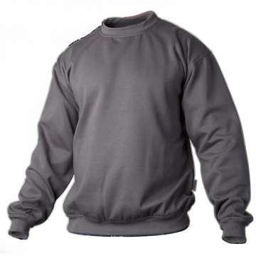 Grå college genser