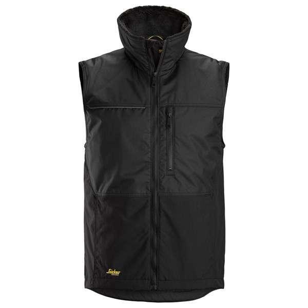 Svart Vintervest herre - Snickers Workwear 4548