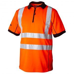 Oransje funksjons T-skjorte