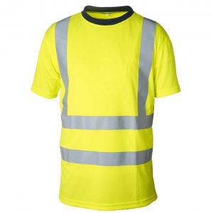 Gul funksjons T-skjorte