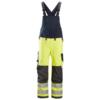 SMarineblå og gul snekkerbukse ProtecWork – Snickers Workwear 6060 i klasse 2