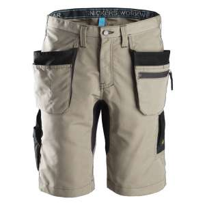 Khaki arbeidsshorts 37.5™ - Snickers Workwear 6101
