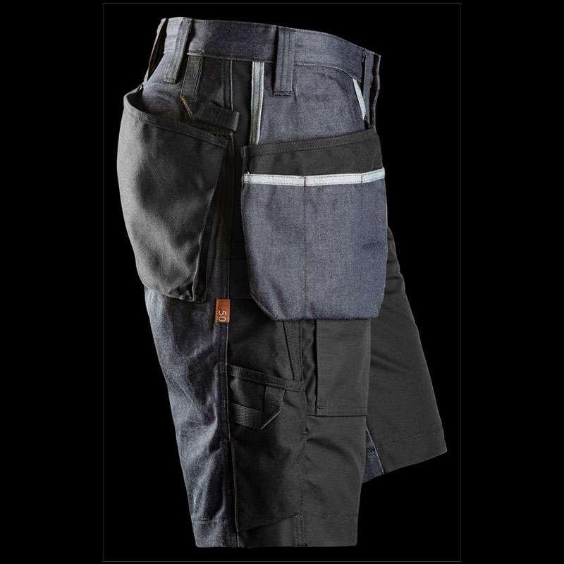 Svart arbeidsshorts RuffWork - Snickers Workwear 6104