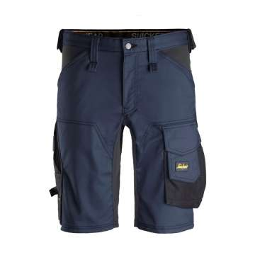 Marineblå shorts Allroundwork - Snickers Workwear 6143