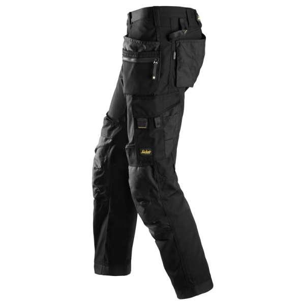 Svart arbeidsbukse - Snickers Workwear 6200