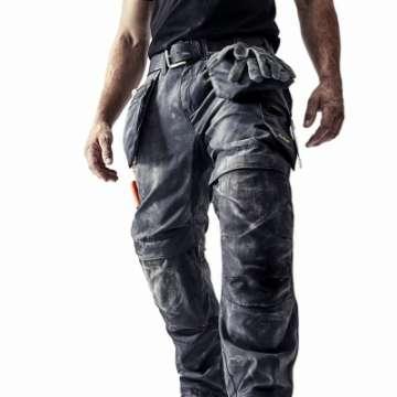 Stålgrå arbeidsbukse - Snickers Workwear 6200