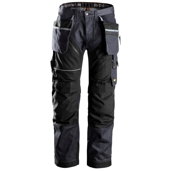 Ruffwork denim bukse - Snickers Workwear 6204