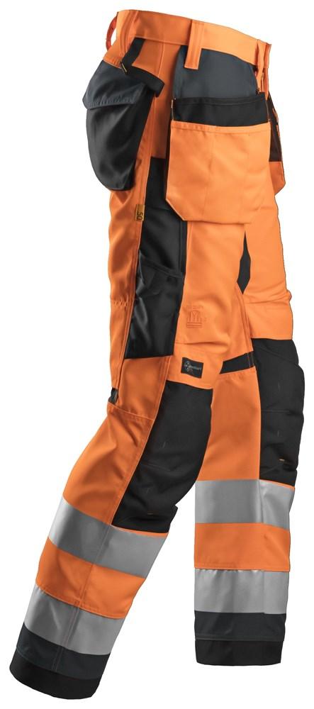 Oransje High-Vis bukse - Snickers Workwear 6230