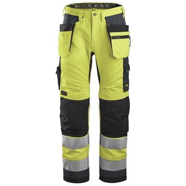 Moderne High Vis bukse med hylsterlommer, god passform og avansert funksjonalitet.