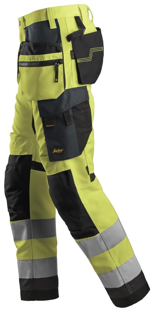 Gul High-Vis bukse - Snickers Workwear 6230