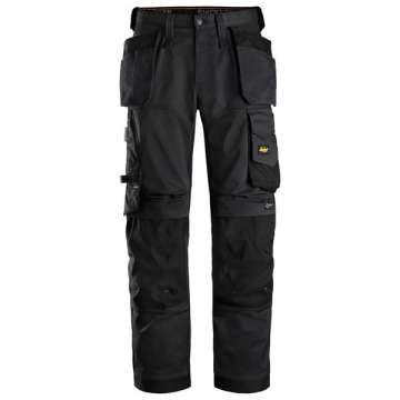 Svart stretch bukse - Snickers Workwear 6251