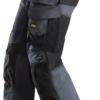 Stålgrå stretch bukse - Snickers Workwear 6251