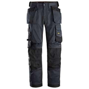 Marineblå stretch bukse - Snickers Workwear 6251