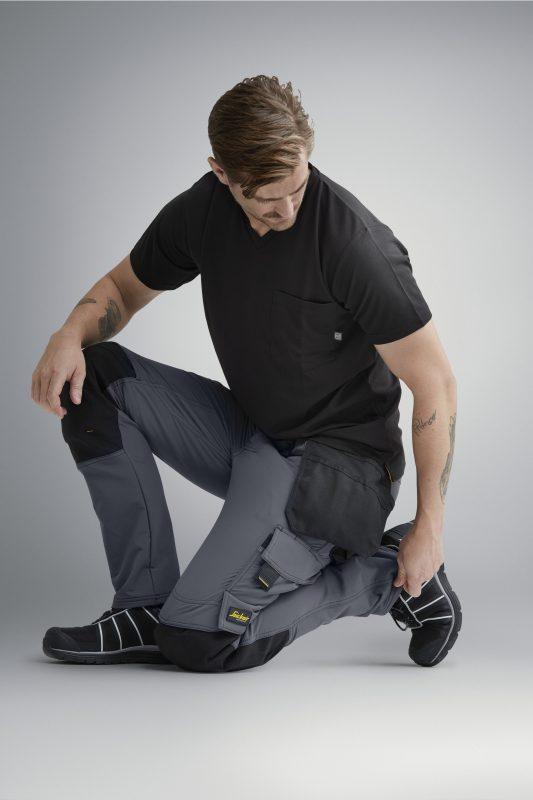 4-veis stretch bukse med hylsterlommer.