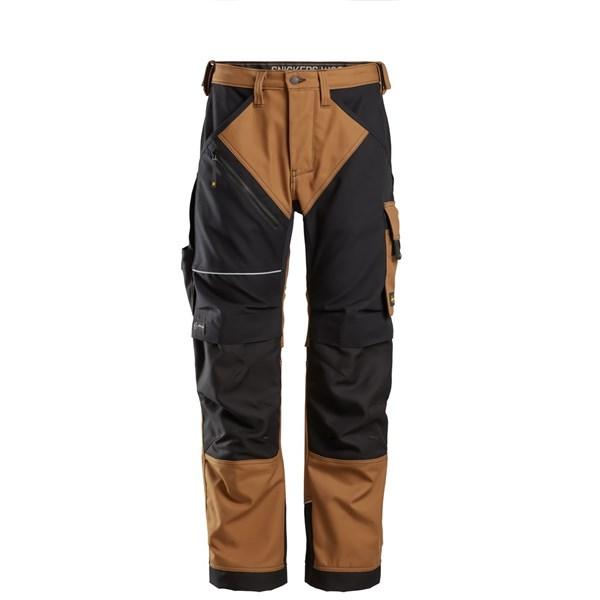 Brun Ruffwork bukse - Snickers Workwear 6314